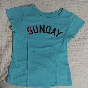 A light blue shirt